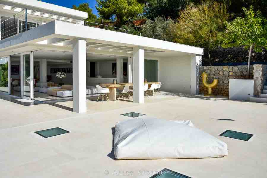 Contemporary Cube Modern Luxury Villa Ibiza