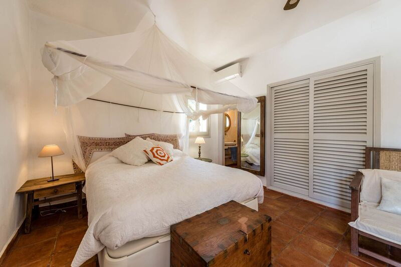 Cosy Comfortable Ibiza Bedroom Villa Bed