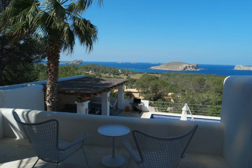 Countryside Sea View Villa In Ibiza Spain