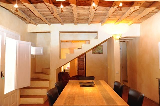 Dining Area Ibiza Villa Moern Super Chic