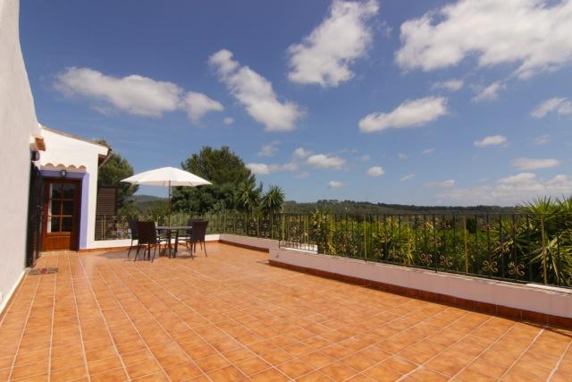 Dining Area Terrace Ibiza Villa