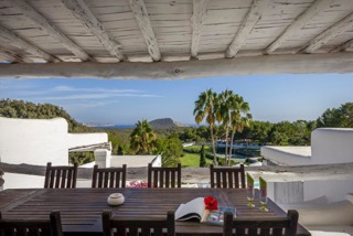 Dining Area Terrace Porroig Location Villa Ibiza