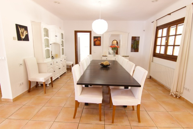 Dining Room Gorgeous Ibiza Villa