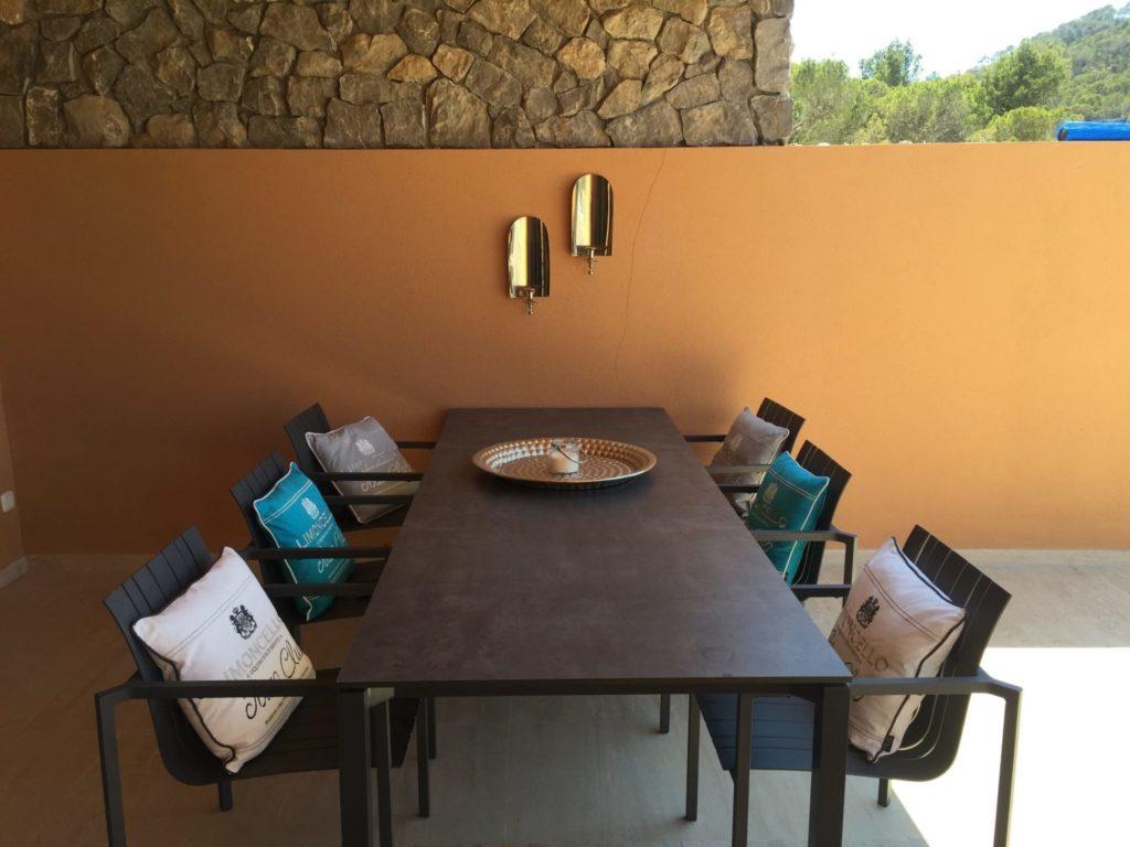 Dining Room Ibiza Villa