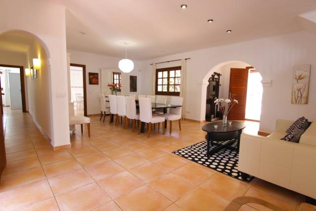 Dining Room Ibiza Villa Finca
