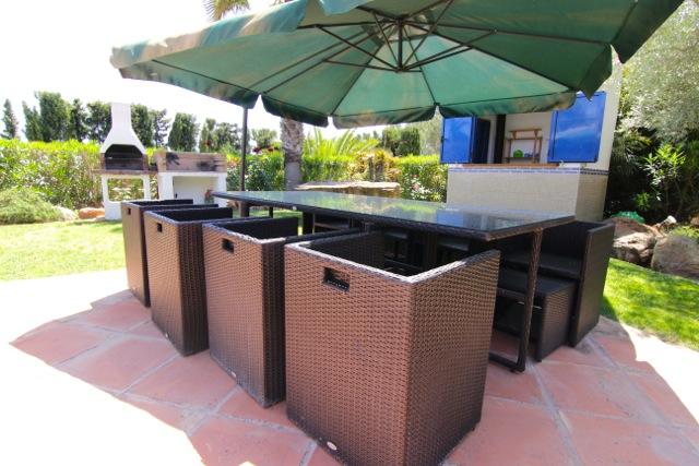 Dining Table Outdoor Ibiza Villa Chic