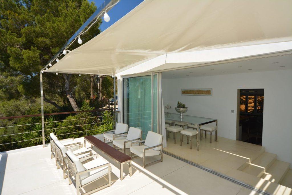 Dining Terrace Area Ibiza Villa