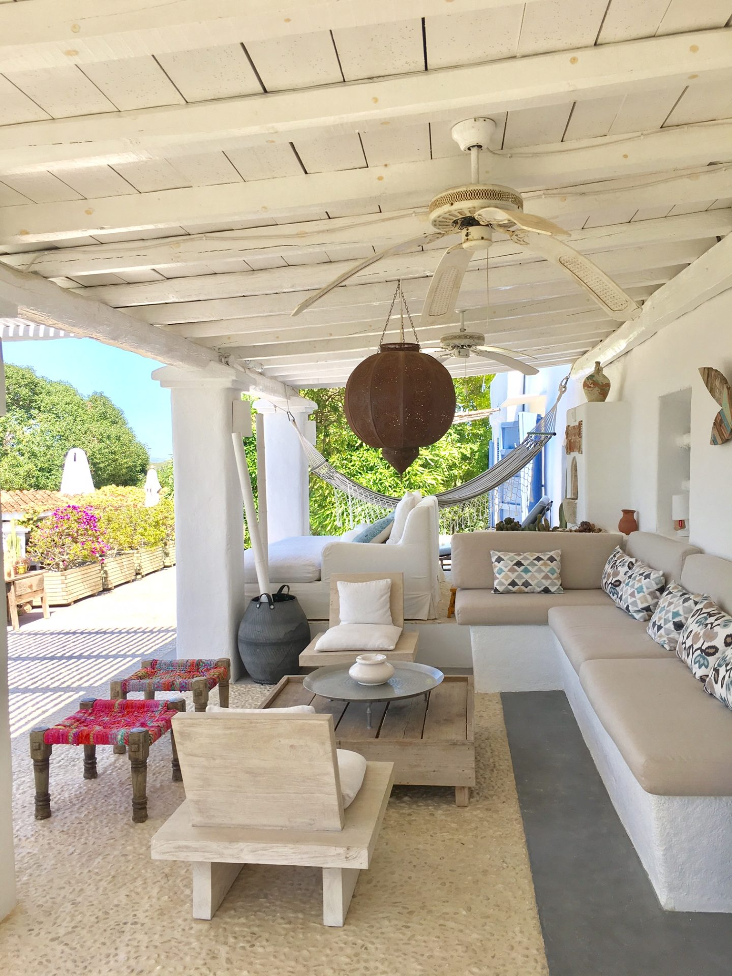 Enjoy Area Villa Your Stay Cala Tarida Ibiza Outdoor Seating