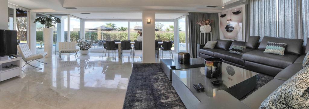 Enjoy Huge Space Inside Talamanca Ibiza Villa