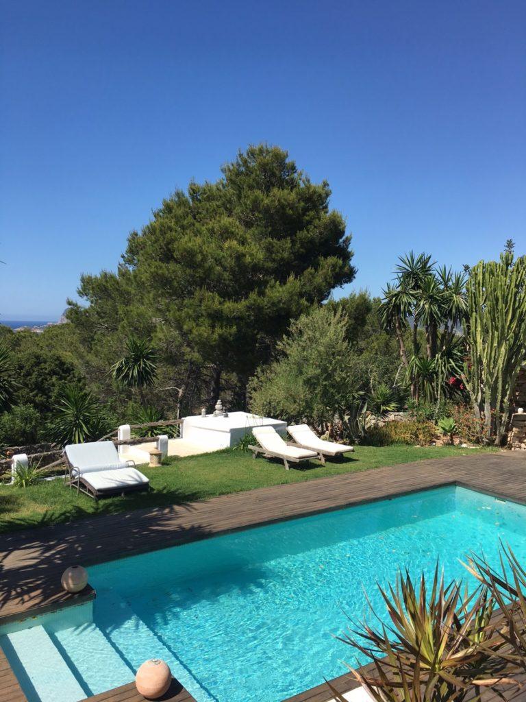 Enjoy The Silence And Relax Cala Tarida Ibiza Villa Pool