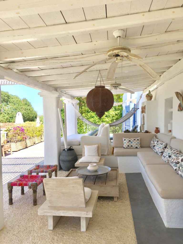 Enjoy Your Stay Cala Tarida Ibiza Outdoor Seating Area Villa