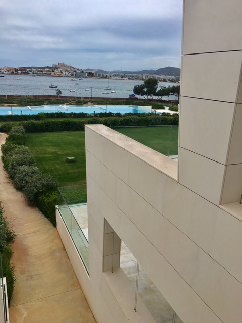 Es Pouet Exclusive Apartmentblock With View To The Old Ibiza Town