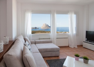 Es Vedra View Ibiza Villa Living Room