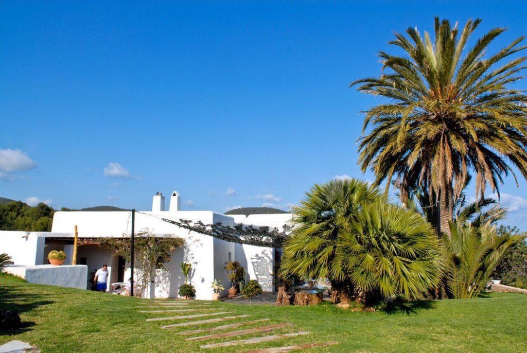 Exterior Ibiza White Garden Trees Villa