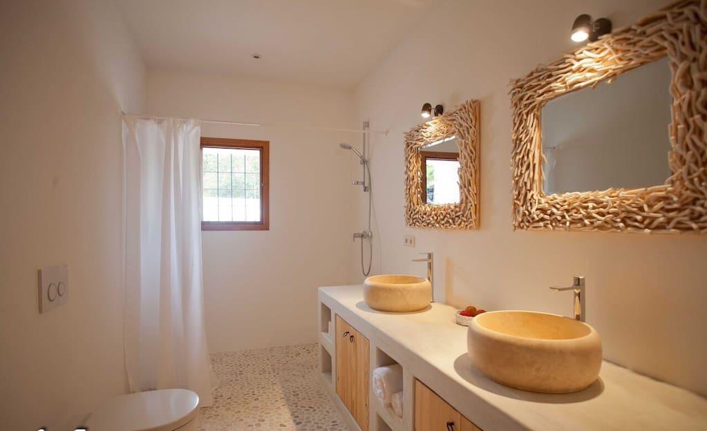 Finca Bathroom Ibiza Luxury Wonderful