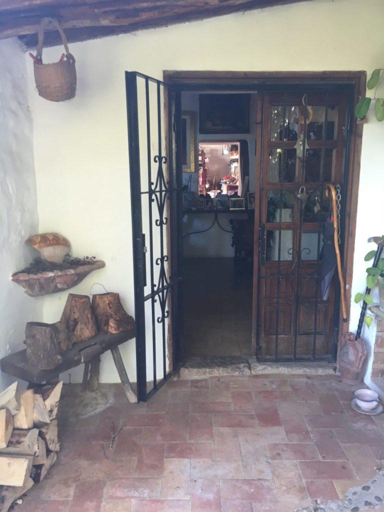 Finca Character Outdoor Front Door Terrace Ibiza Jesus Old Rustic Potential Rennovation