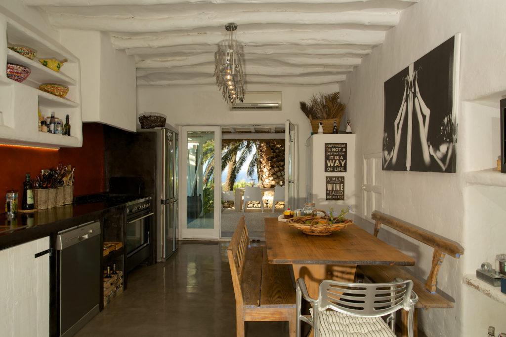 Finca Dining Area Ibiza