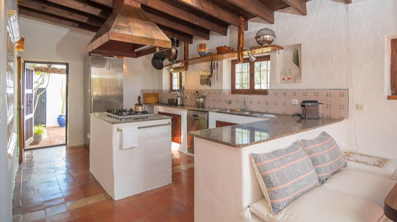 Finca Fully Equip Kitchen Ibiza
