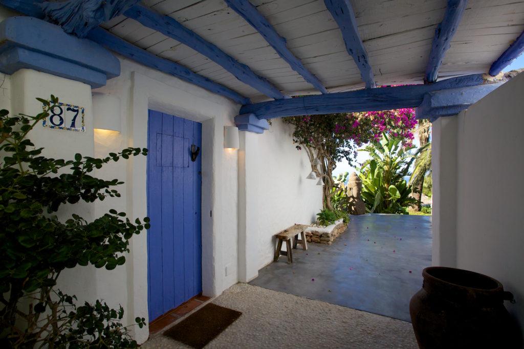 Finca Ibiza Blue White Traditional