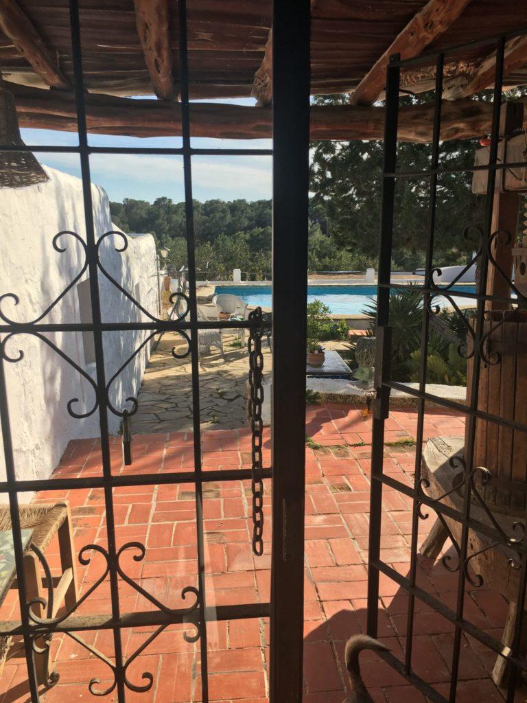 Finca Ibiza Jesus Old Rustic Potential Rennovation Character Door Front
