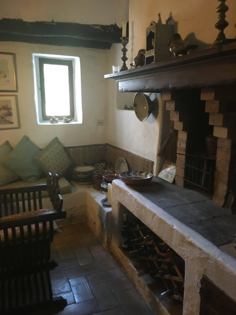 Finca Ibiza Jesus Old Rustic Potential Rennovation Character Fireplace