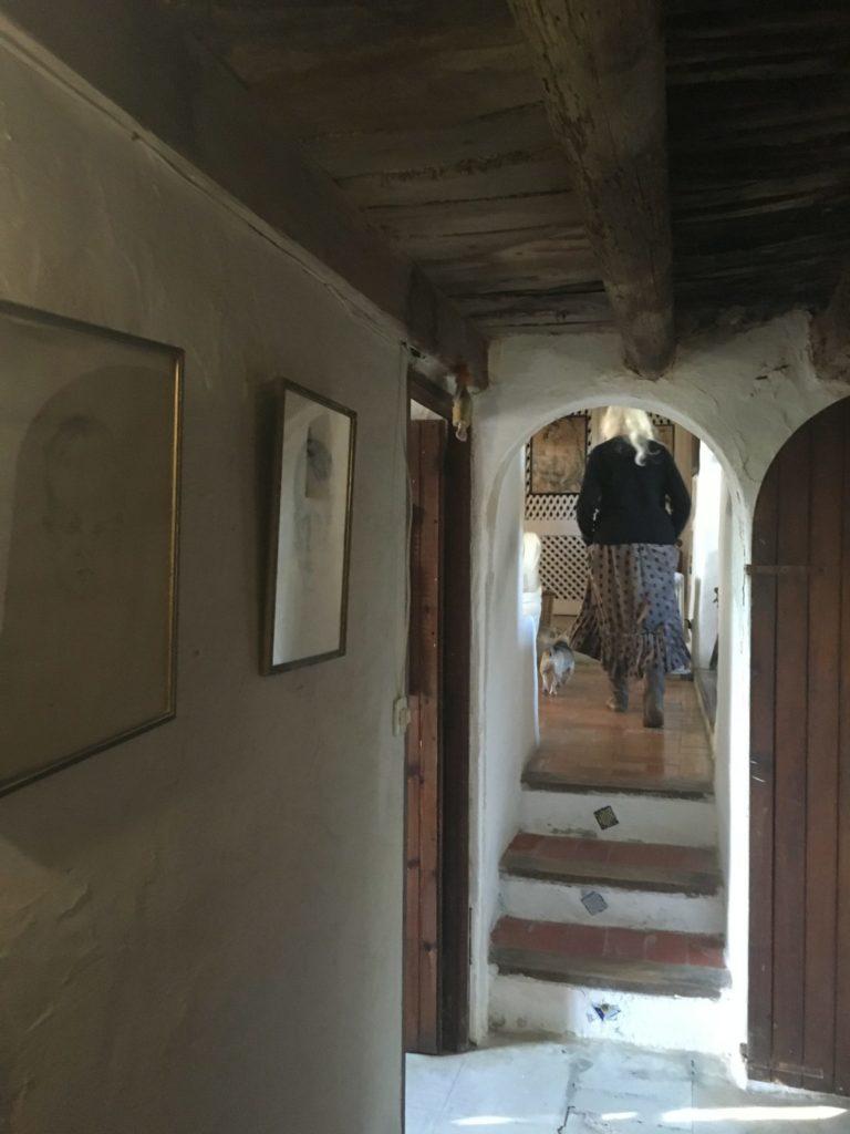 Finca Ibiza Jesus Old Rustic Potential Rennovation Character Hallway
