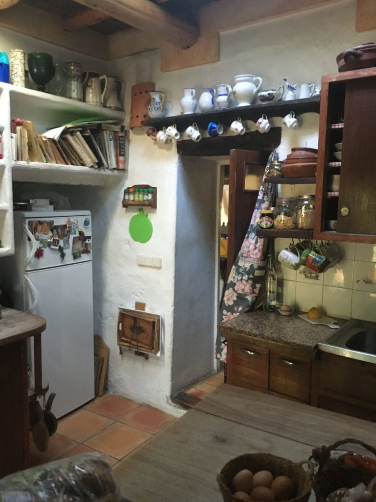 Finca Ibiza Jesus Old Rustic Potential Rennovation Character Kitchen