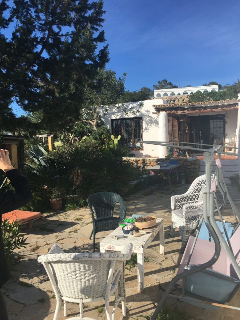 Finca Ibiza Jesus Old Rustic Potential Rennovation Character Pool Outdoor Area