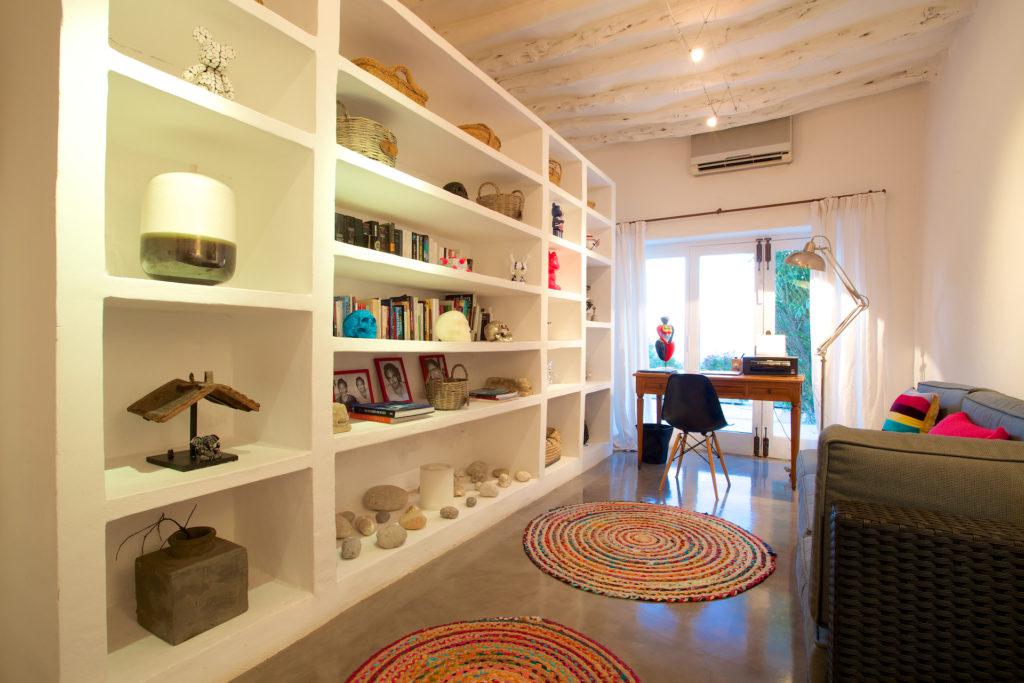 Finca Ibiza Rent Cala Tarida Living Room