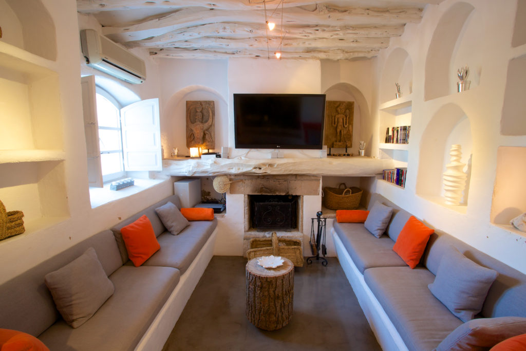 Finca Ibiza Rent Cala Tarida Lounge
