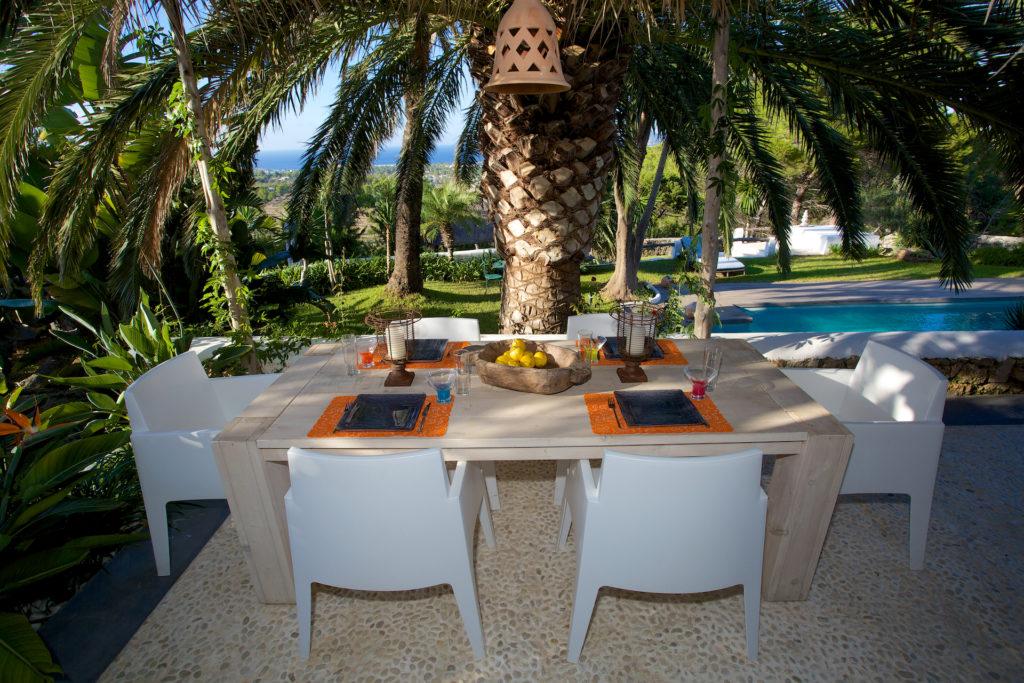 Finca Ibiza Rent Cala Tarida Outdoor Area
