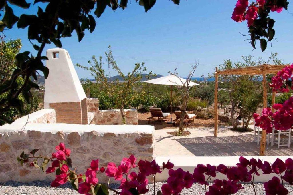 Finca Living Area Rustic Beautiful Outdoor Ibiza Barbecue