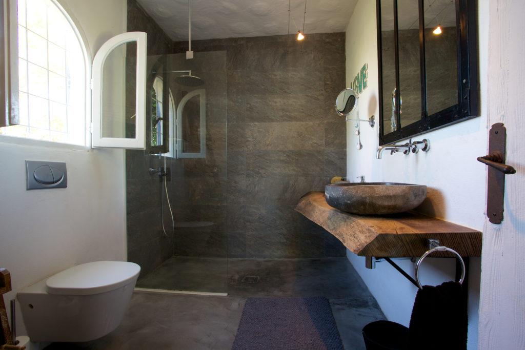 Finca Modern Stylish Bathroom Ibiza