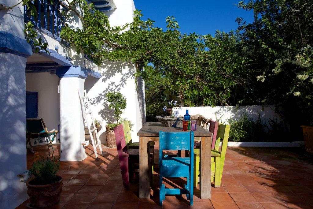 Finca Quirky Outdoor Area Special Traditional Ibiza White