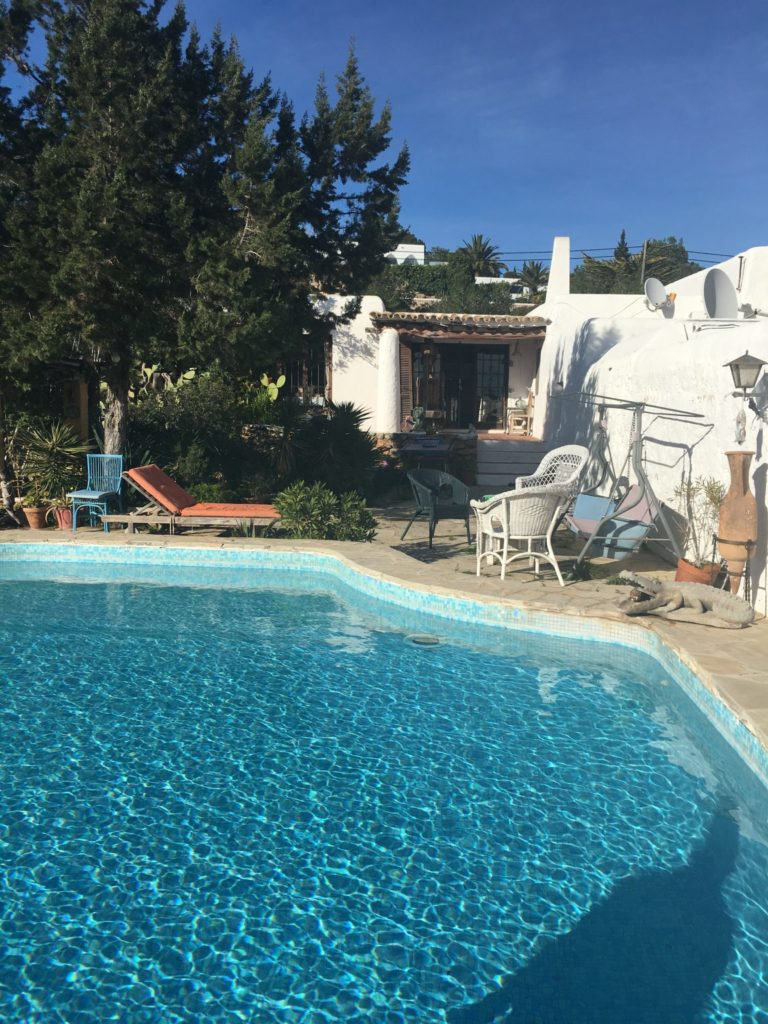 Finca Terrace Ibiza Jesus Old Rustic Potential Rennovation Character Pool Outdoor