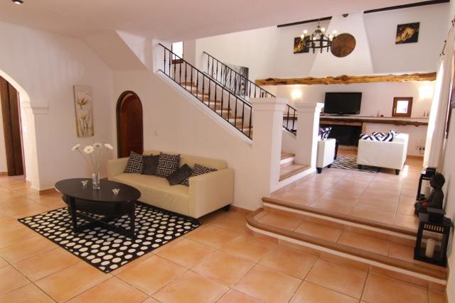 Finca Villa Ibiza Sitting Room Tv