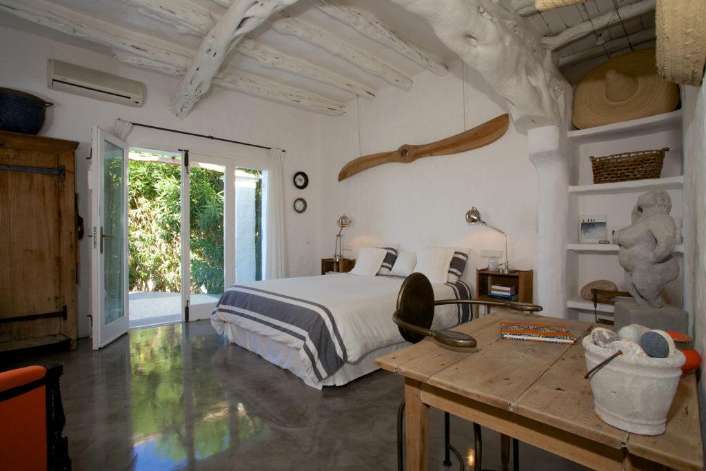 Finca White Walls Interior Stylish Comfort Ibiza