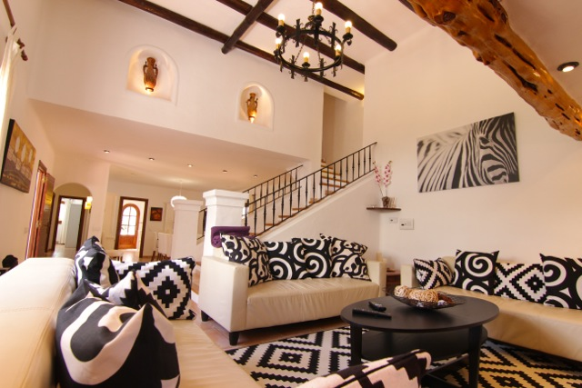 Finca Wooden Beams Ibiza Villa Luxury