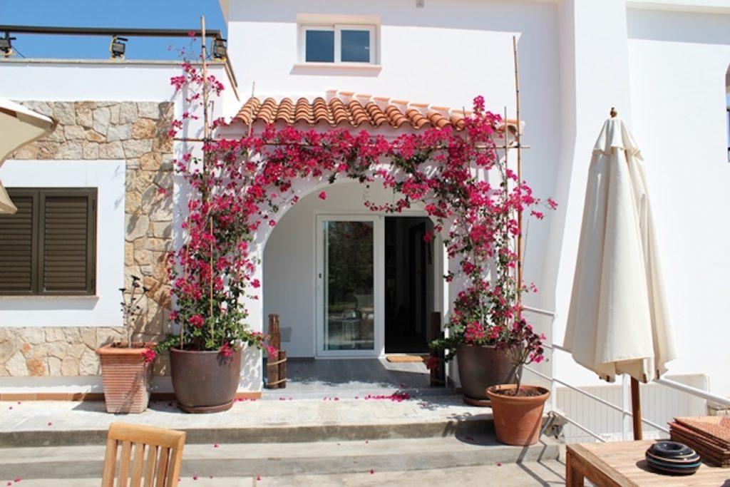 Flowers Pretty Entrance Casa Villa Ibiza