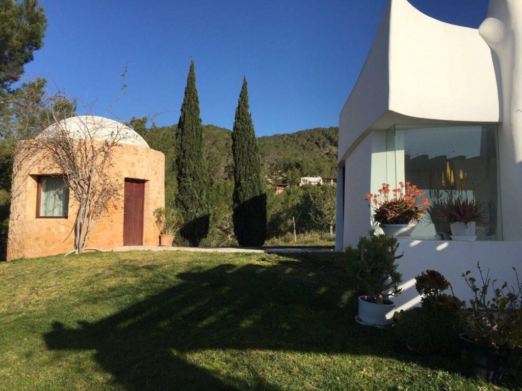 Garden Trees Exterior Villa Ibiza