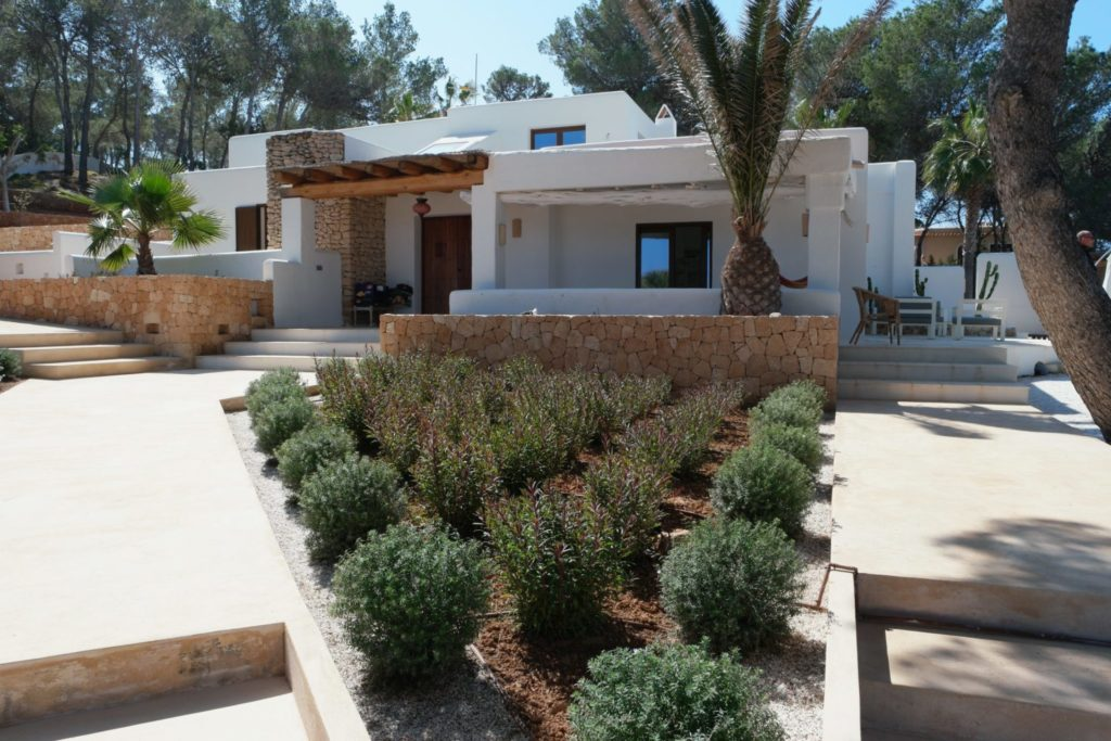 Garden Verranda Villa Rustic Ibiza Trees