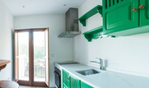 Gorgeous Green Kitchen Finca Small Cute Ibiza Villa