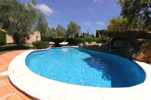 Gorgeous Pool Trees Ibiza Villa