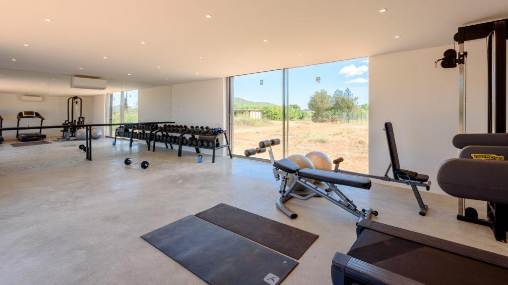 Gym Room Villa Ibiza Amigos Los