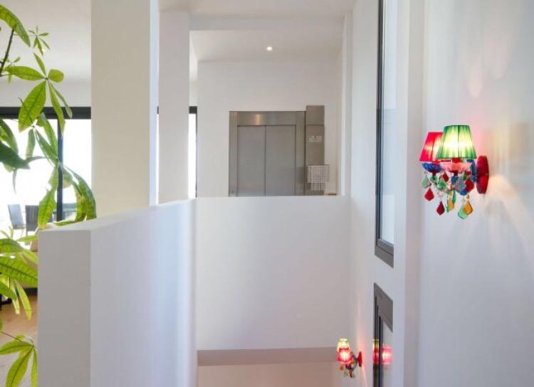 Hallway Villa White Ibiza