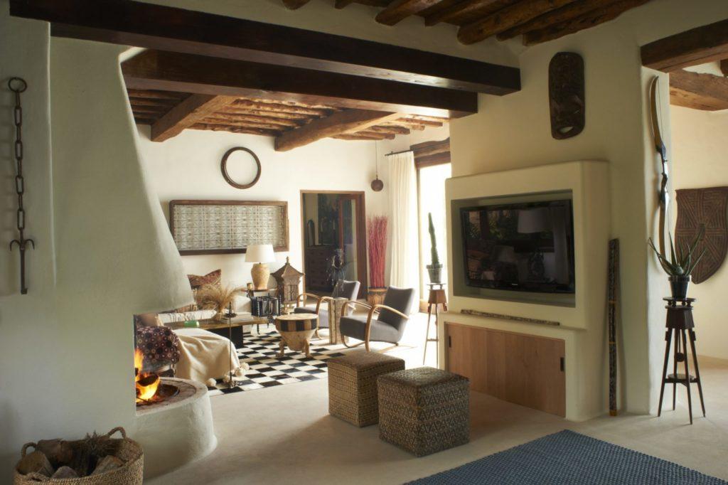Holiday Villas Ibiza Main House Living 2
