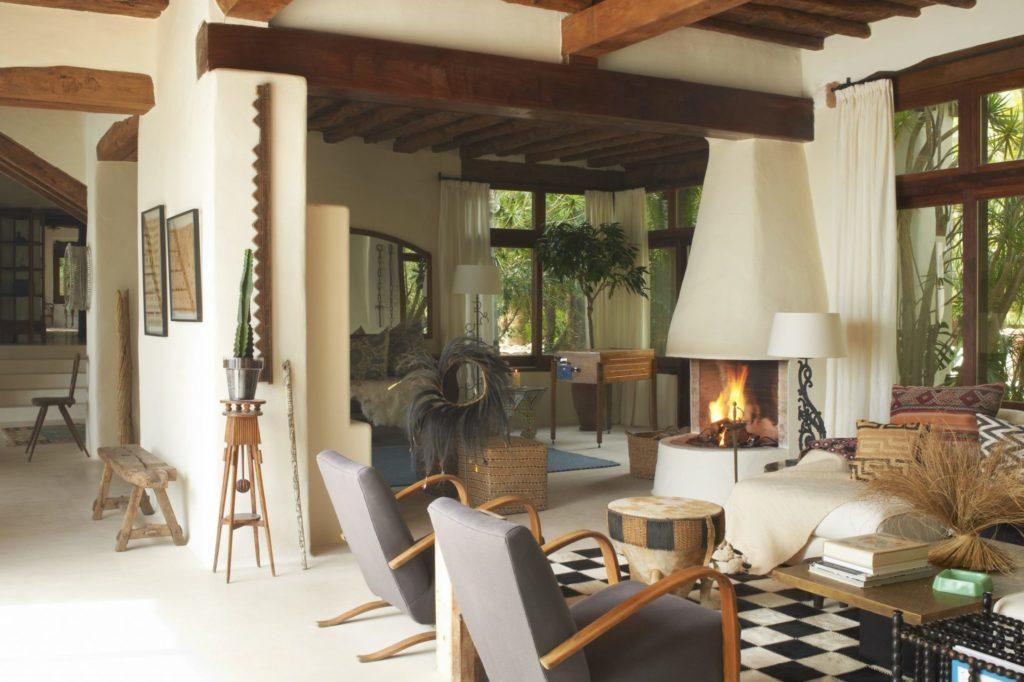 Holiday Villas Ibiza Main House Living 3