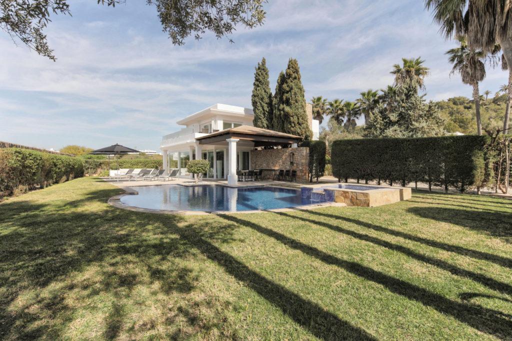 Huge Garden Modern Villa Talamanca Ibiza