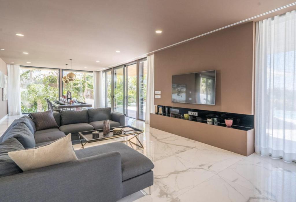 Huge Living Area Talamanca Ibiza Villa