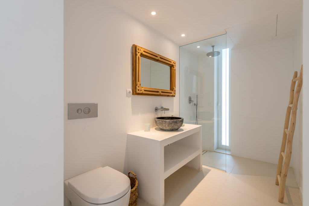 Ibiza Bathroom Villa Minimal Luxury Modern Spacious White Minimal